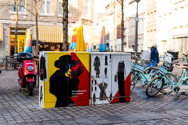 Preview: MoMu takes to the streets with decorated utility boxes in Nationalestraat