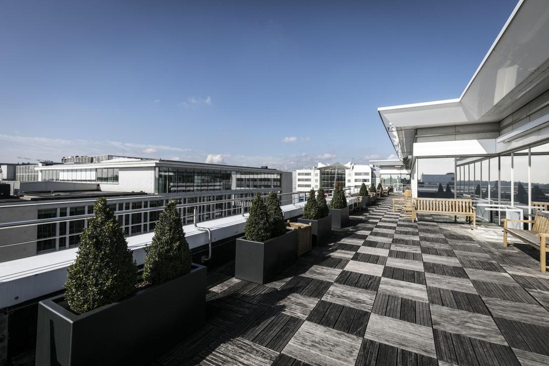 Roof - The Espace Kennedy B, Kirchberg, Luxemburg.