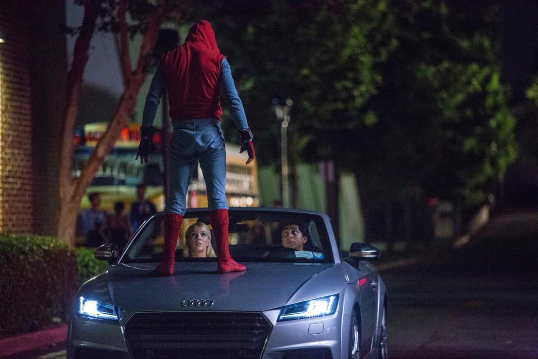 De nieuwe Audi A8 maakt zijn debuut in Spider-Man: Homecoming