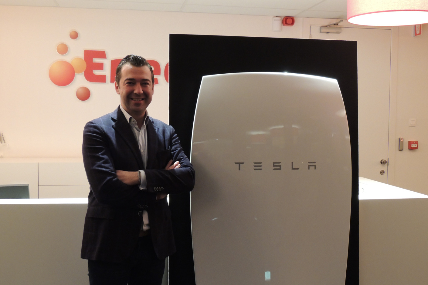 Eneco brengt Powerwall van Tesla Energy naar de Benelux