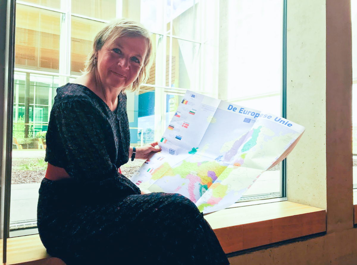 Foto: Annemie Struyf wil Vlaams-Brabanders laten