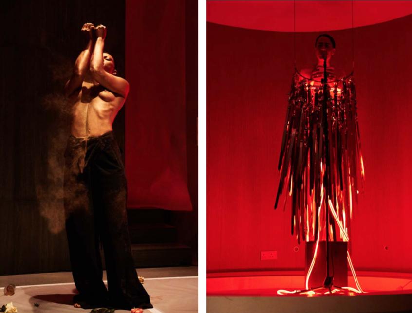 Podium / Performance - 19.11: Wu Tsang, Boychild feat. Patrick Belaga - Moved by the Motion (PINK SCREENS)
