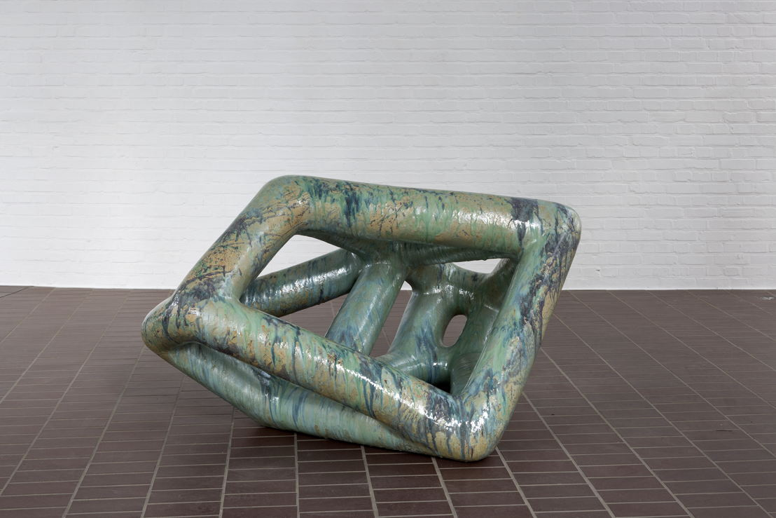 Richard Deacon<br/>Like You Know, 2002<br/>Copyright and courtesy of the artist<br/>Foto: Werner J. Hannappel