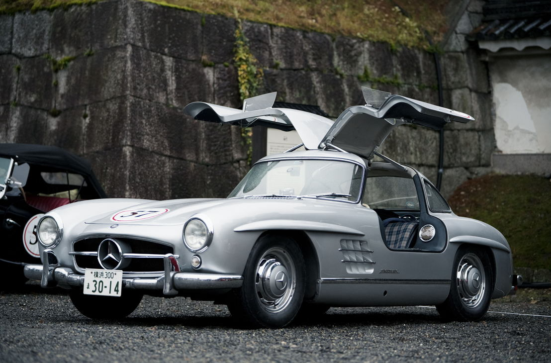 Car model: 1957 Mercedes Benz 300SL Gullwing