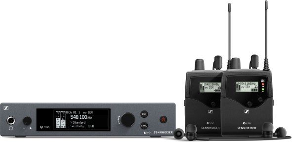 Special deal for March: the ew IEM G4 TWIN monitoring system