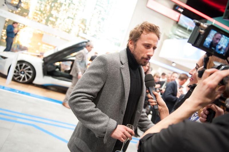 Matthias Schoenaerts - Opening BMW Brand Store Brussels