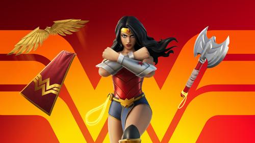 Wonder Woman llega a Fortnite