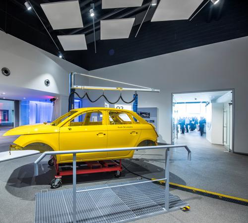 Ergonomiebeurs bij Audi Brussels