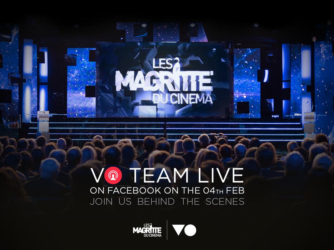 Werp live een blik achter de schermen van de Magritte du Cinéma met VO Event