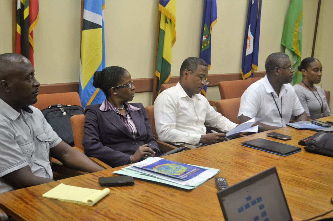 World Bank CROP Mission's visit to the OECS Commission from Nov 1-3, 2016.