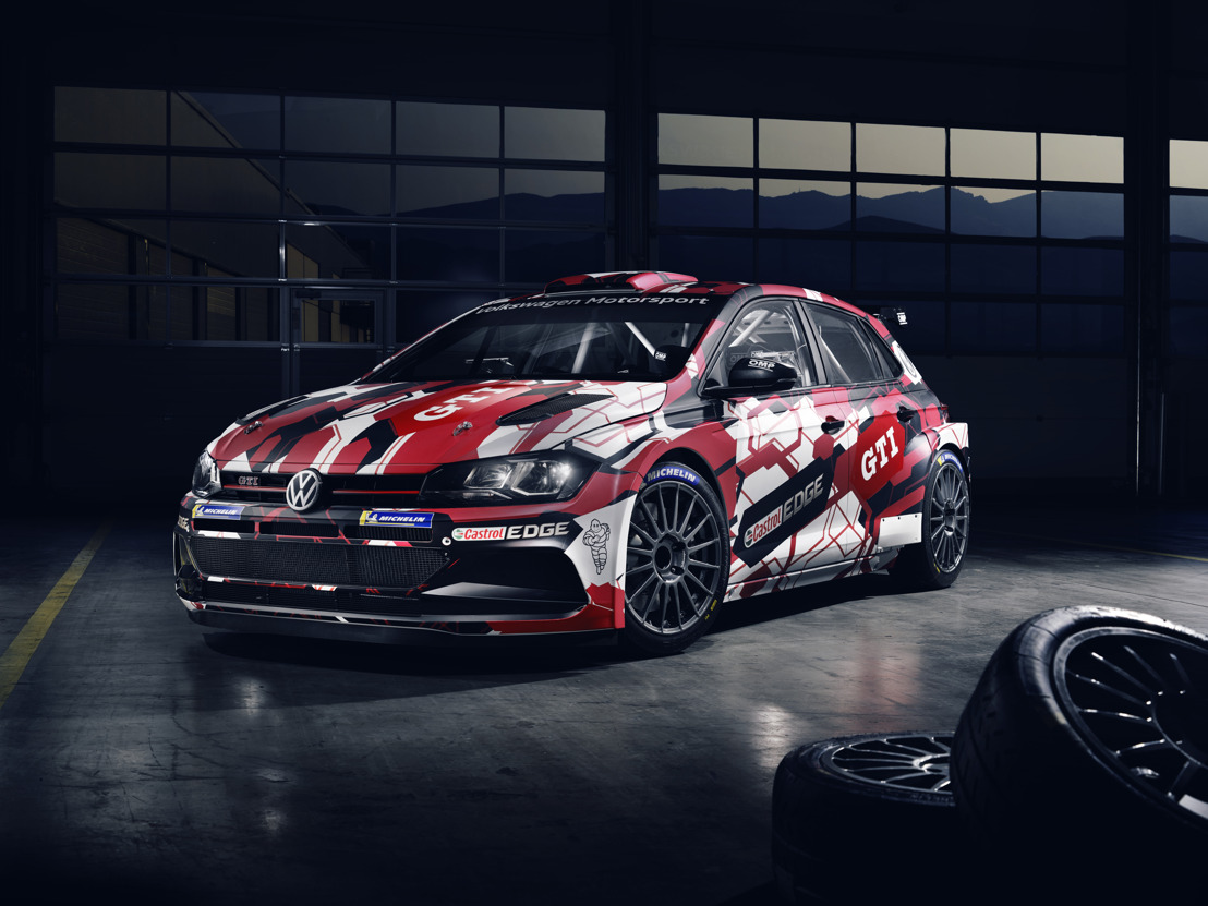 Volkswagen presents livery of the Polo GTI R5.