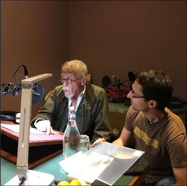 John Hurt en Fabio Wuytack - (c) Fabio Wuytack