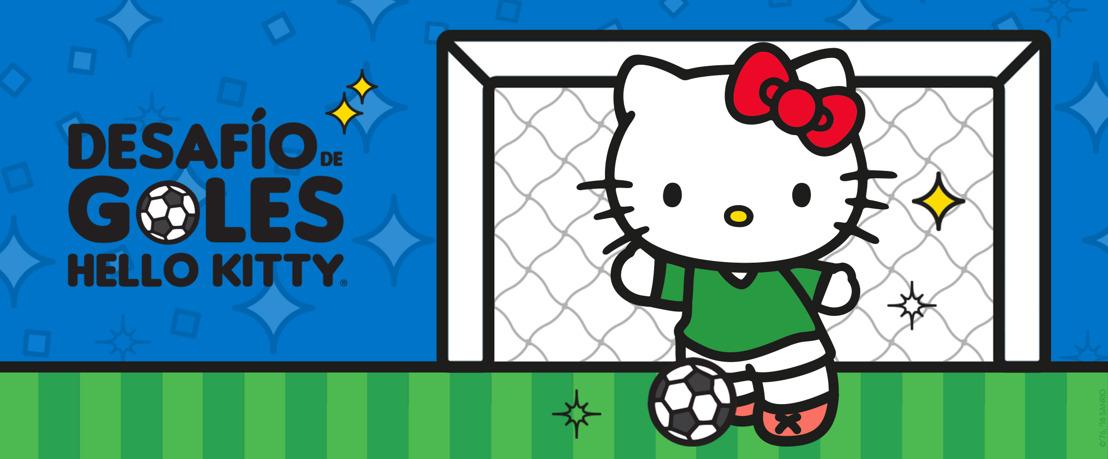 ¡Sé el mejor futbolista con el Desafío de Goles de Hello Kitty!