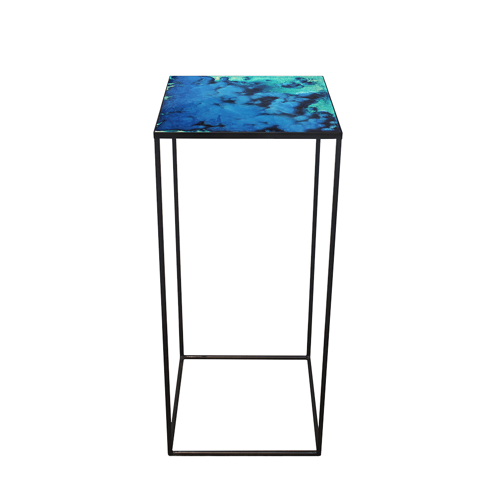 Notre Monde Midnight Crush Compact side table