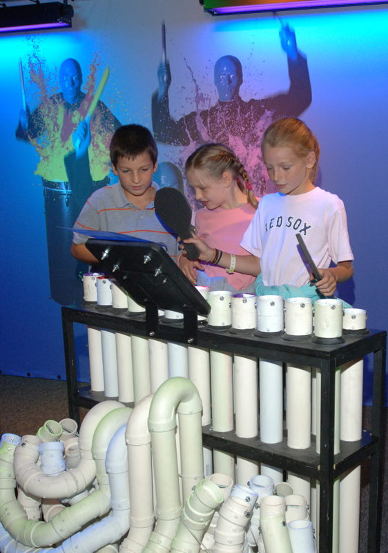 PVC Station (Photo Credit: Boston Children's Museum)