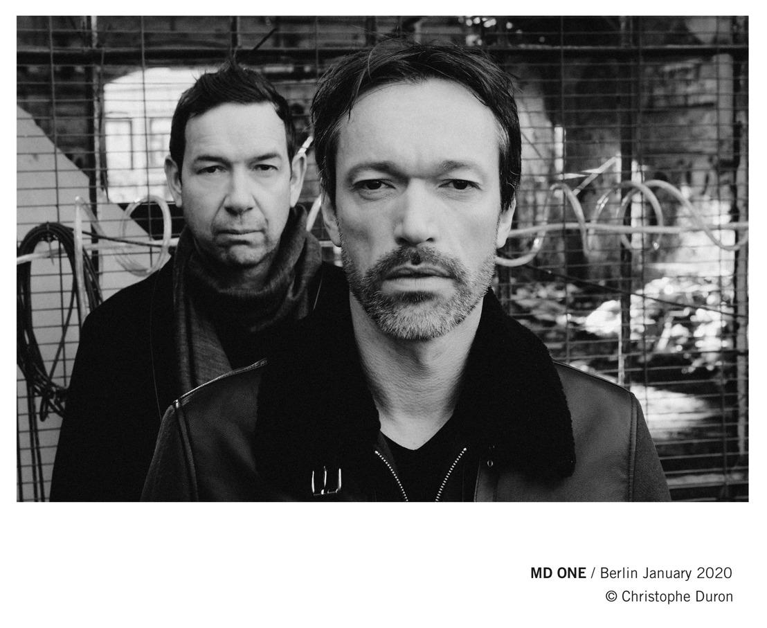 """MD ONE (Pop/Electro) : second single """"Bombe A"""", extrait de leur prochain album """"Twelve Stars"""" qui sortira cette année."""
