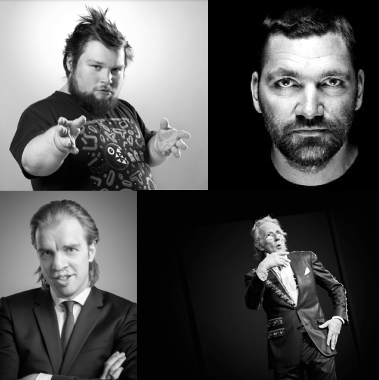Opening Night feat. Freek de Jonge, William Boeva, Theo Maassen, Jan Jaap van der Wal en Jeroen Leenders.