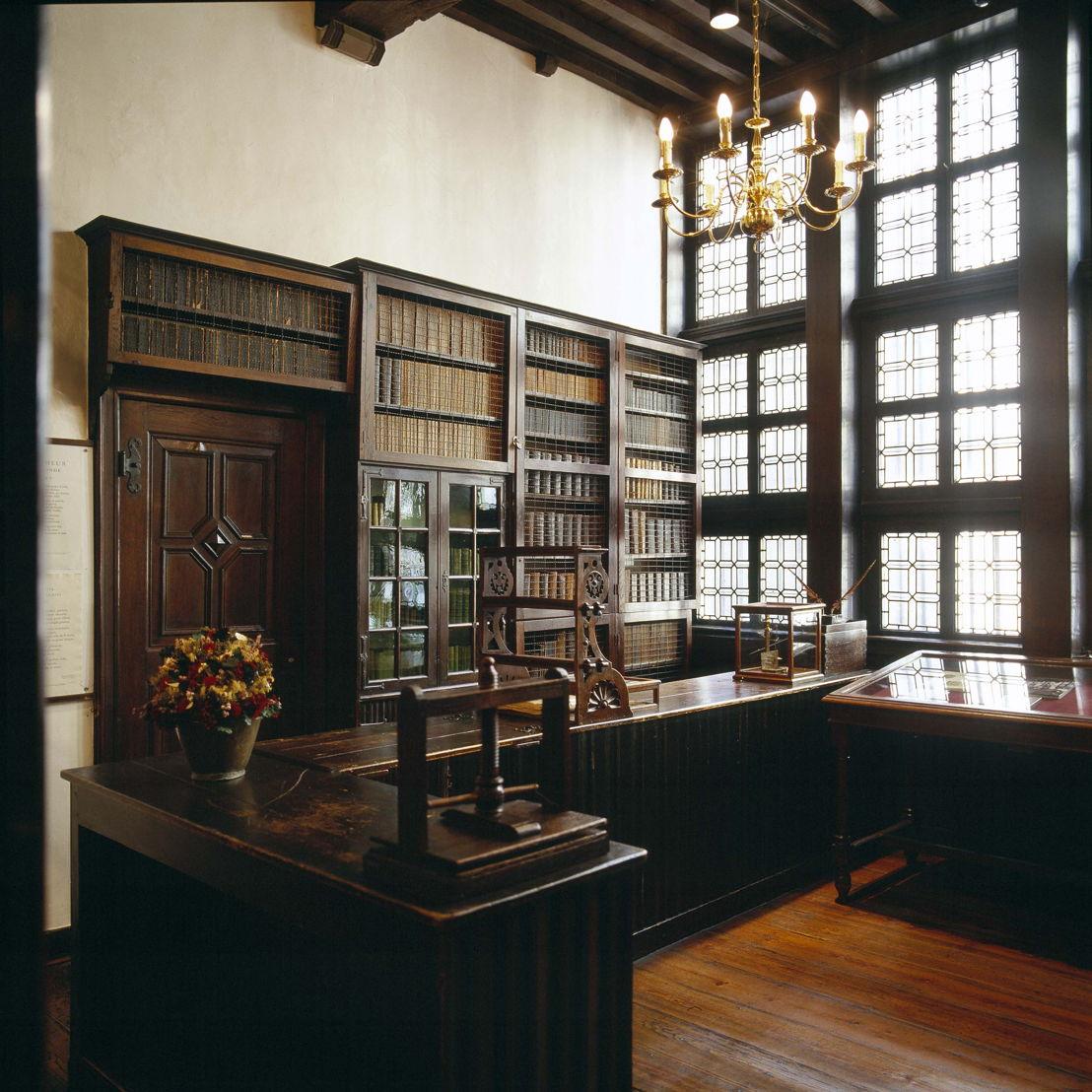 Museum Plantin-Moretus, old bookshop (ca. 1630), photo: Joris Luyten
