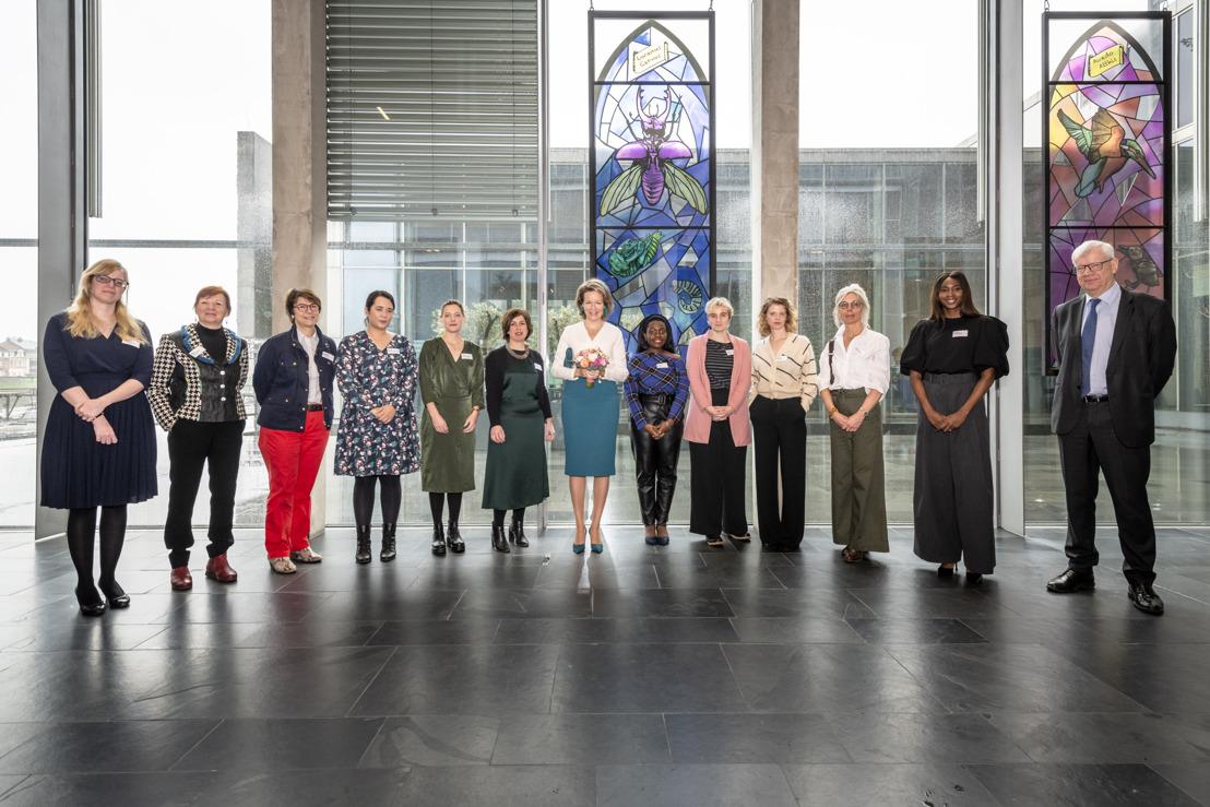 Koningin gaat in gesprek met Vlaams-Brabantse vrouwen