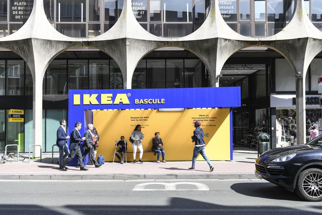 Ikea belgië en ddb lanceren nieuwe campagne rond webshop