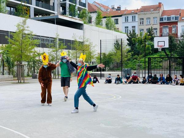 Preview: L'école d'été Talentboost organise des cours de néerlandais pour les enfants bruxellois allophones
