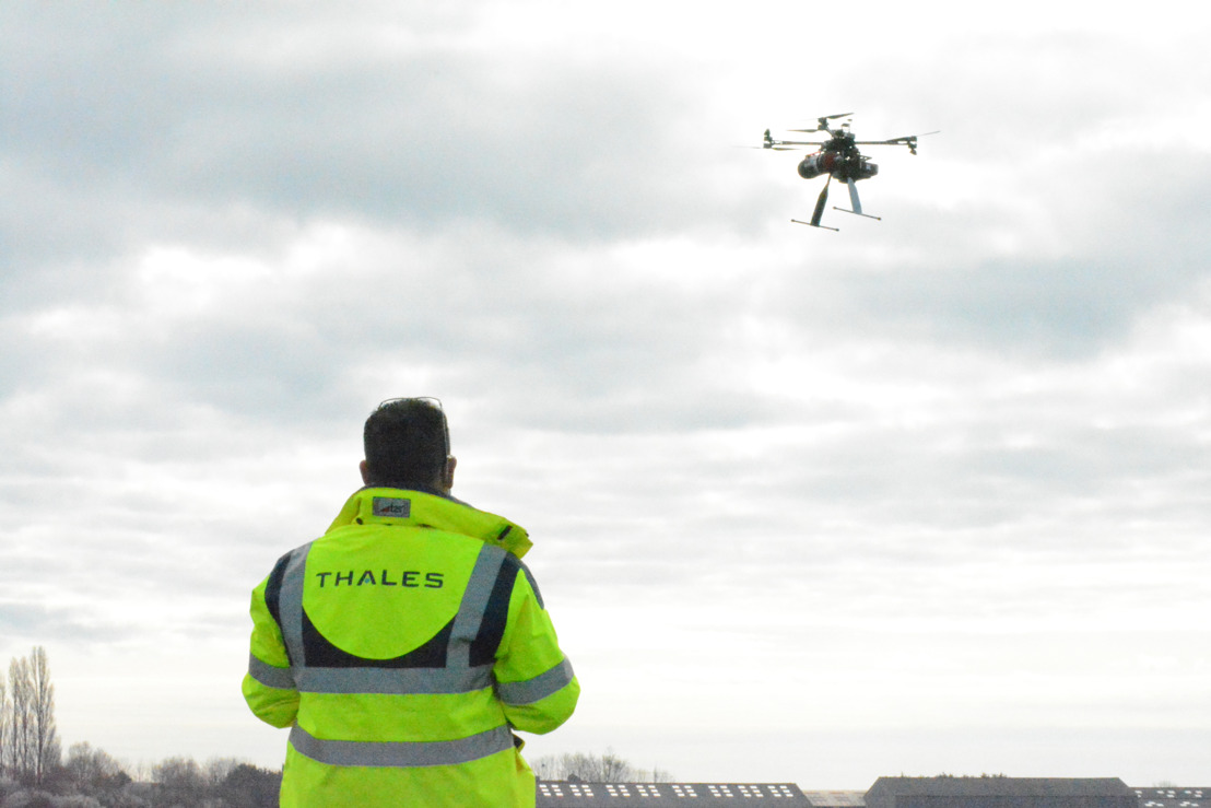 Thales, Drones-Center and ZenT demonstrate hydrogen powered drone for greener and safer flights