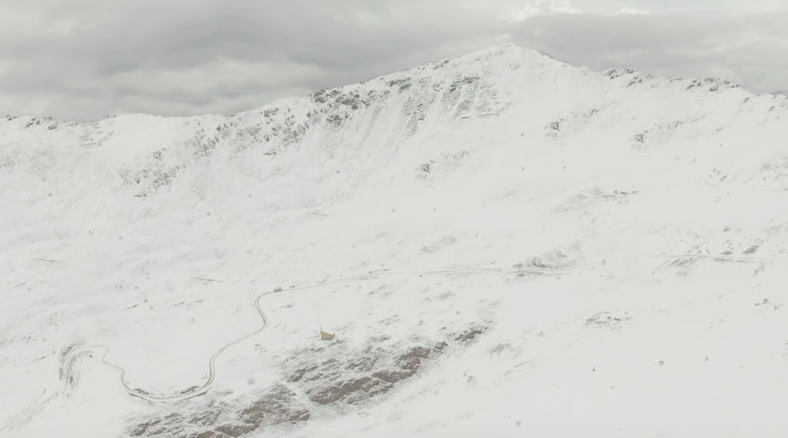Samuel in de wolken: toen er nog sneeuw lag op Chacaltaya - (c) Clin d'oeil