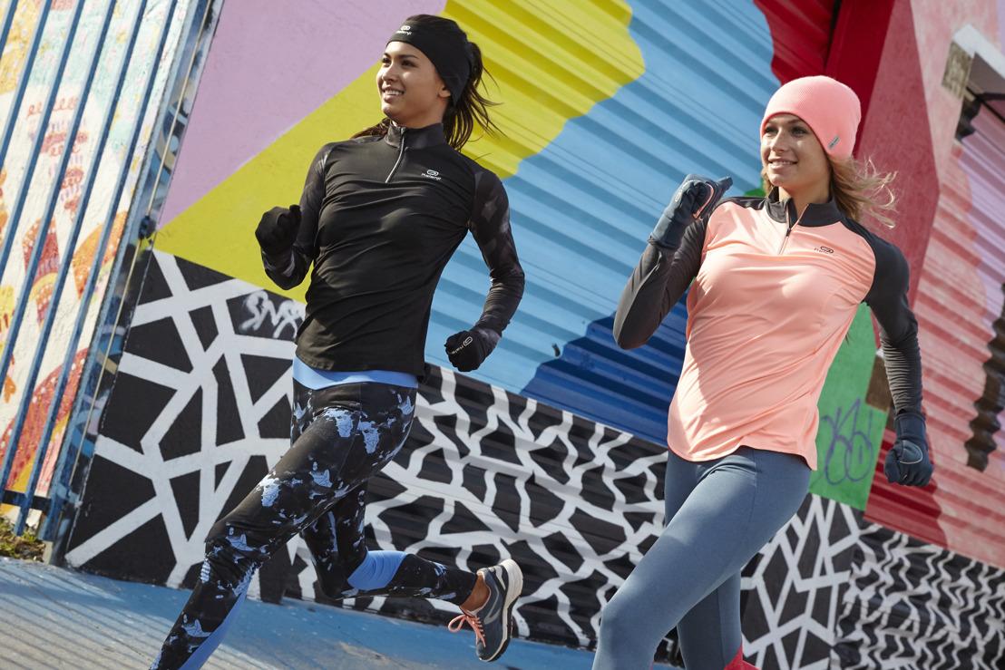 DECATHLON vous propose ses dernières collections femmes pour la course à pied.
