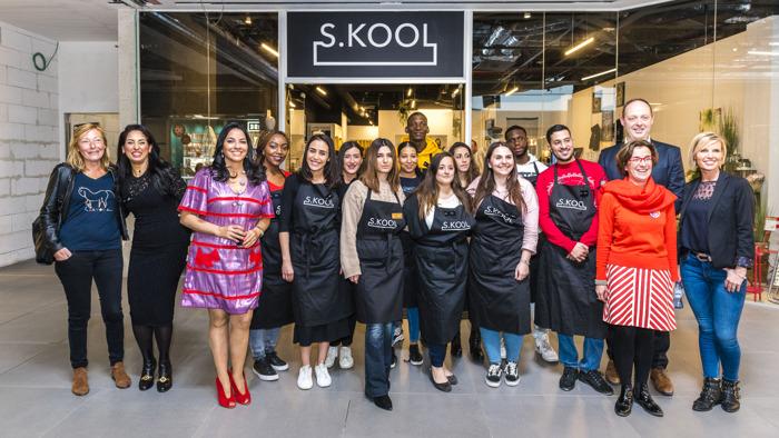 S.KOOL : ouverture de la première boutique-école de Belgique
