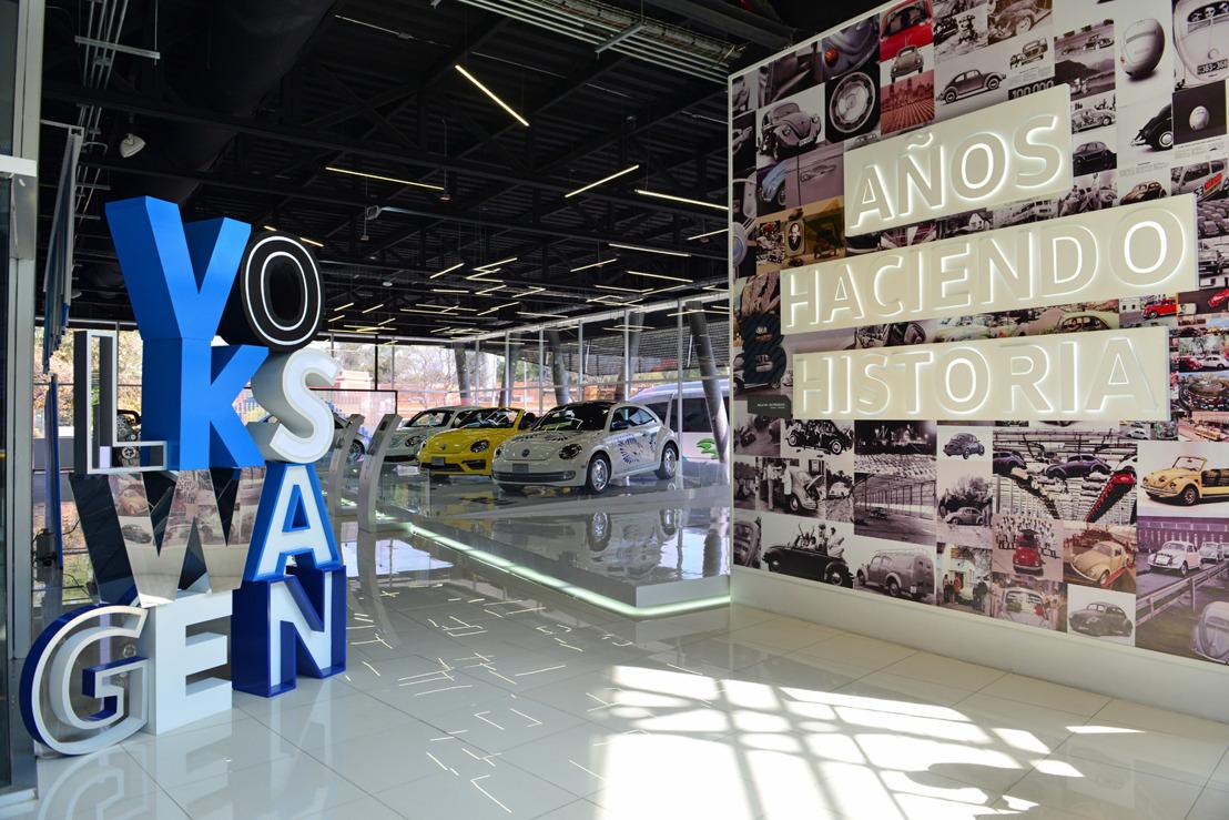65 años de historia en exhibición dedicada al Volkswagen Sedan y al New Beetle en el Museo del Automóvil de Puebla