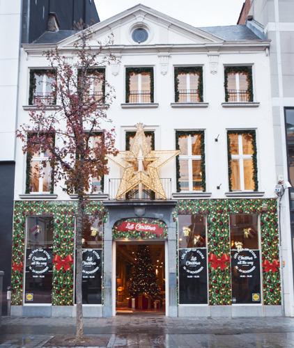 Lidl opent kerstpop-up op de Meir in Antwerpen voor het goede doel