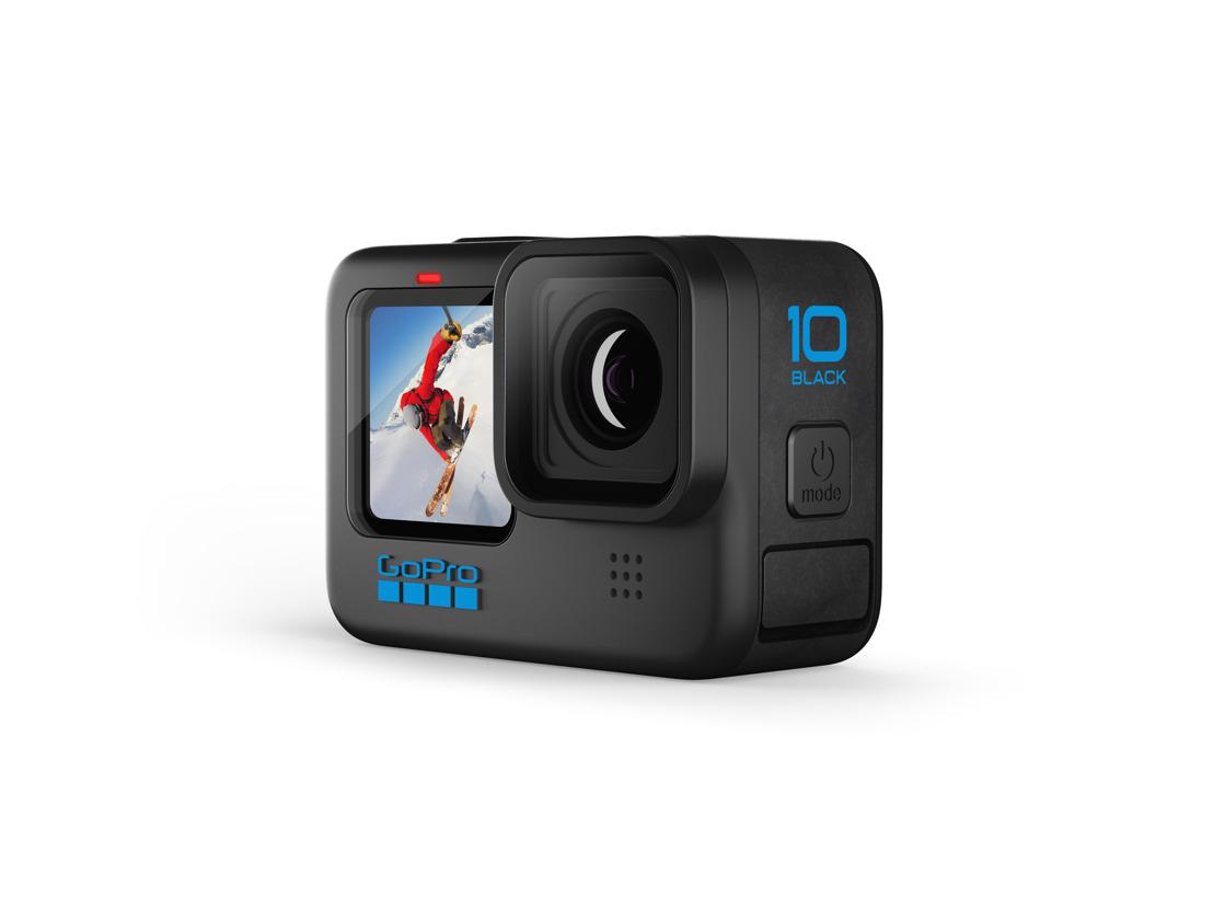 La nueva HERO10 Black de GoPro ofrece calidad de imagen y velocidad operativa de última generación.