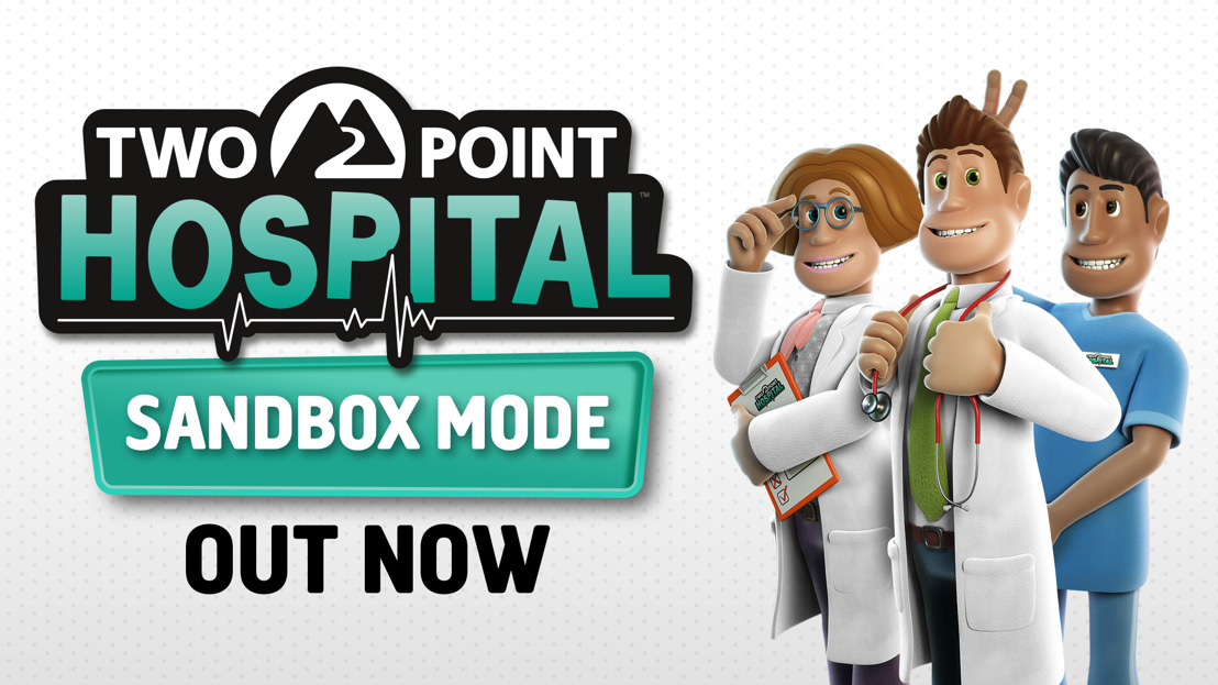 Two Point Hospital: Sandbox Mode Available Now as a Free Update on Consoles!