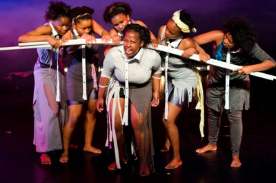 Nompumelelo Zuma in For Colouled Girls Who Have Considered Suicide When The Rainbow Is Enuf_CuePix: Greg Roxburgh_NAF 2016