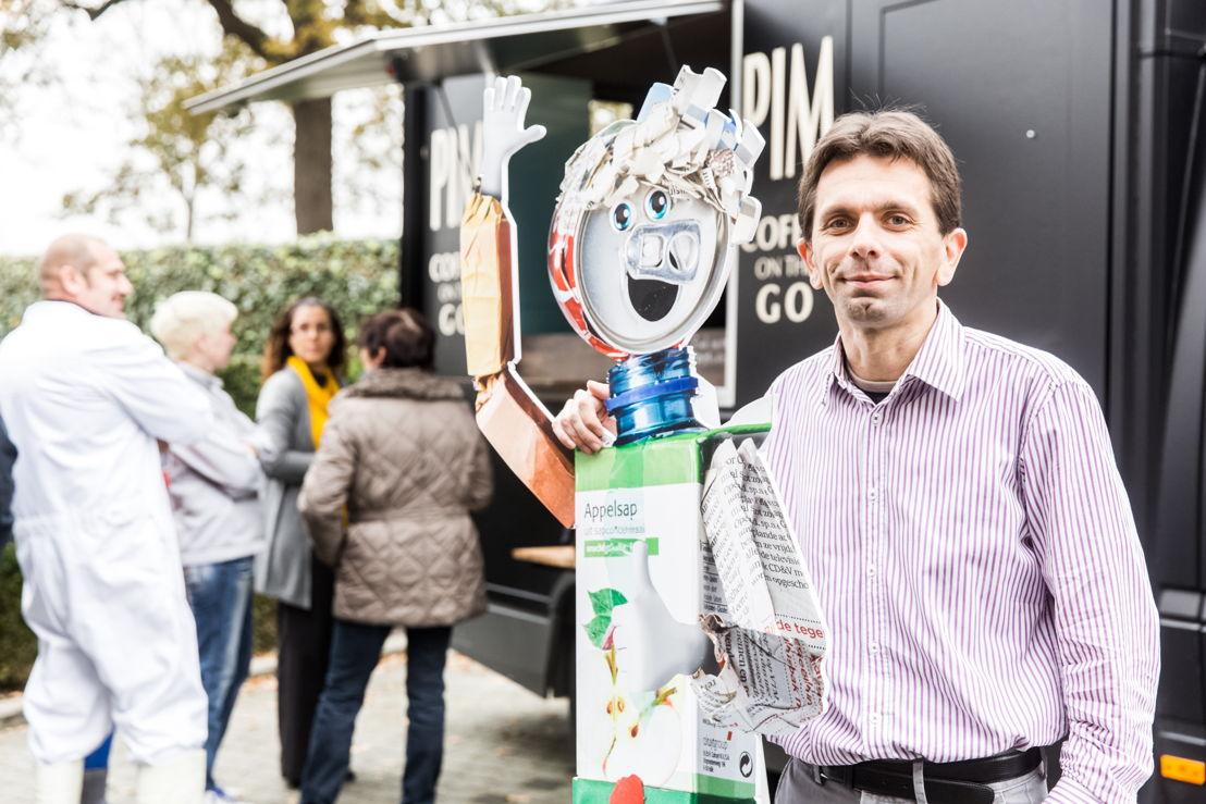 Waldo De Waele, Quality Manager, chez Transmeat lors du petit déjeuner offert par Fost Plus