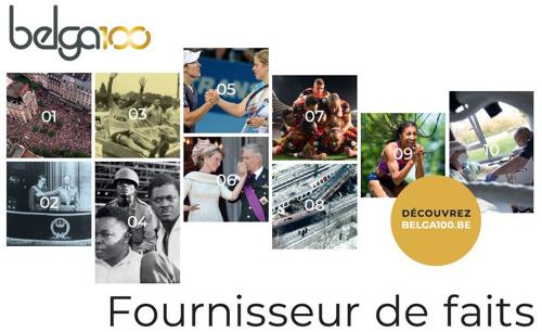 Belga, 100 ans fournisseur de faits ... en 10 photos saisissantes