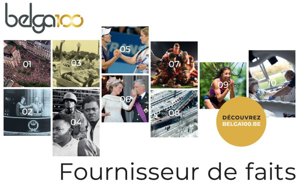 Preview: Belga, 100 ans fournisseur de faits ... en 10 photos saisissantes