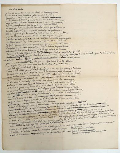 Honderd jaar oude brieven van grondlegger van Moderne Kunst brengen 5.200 euro op