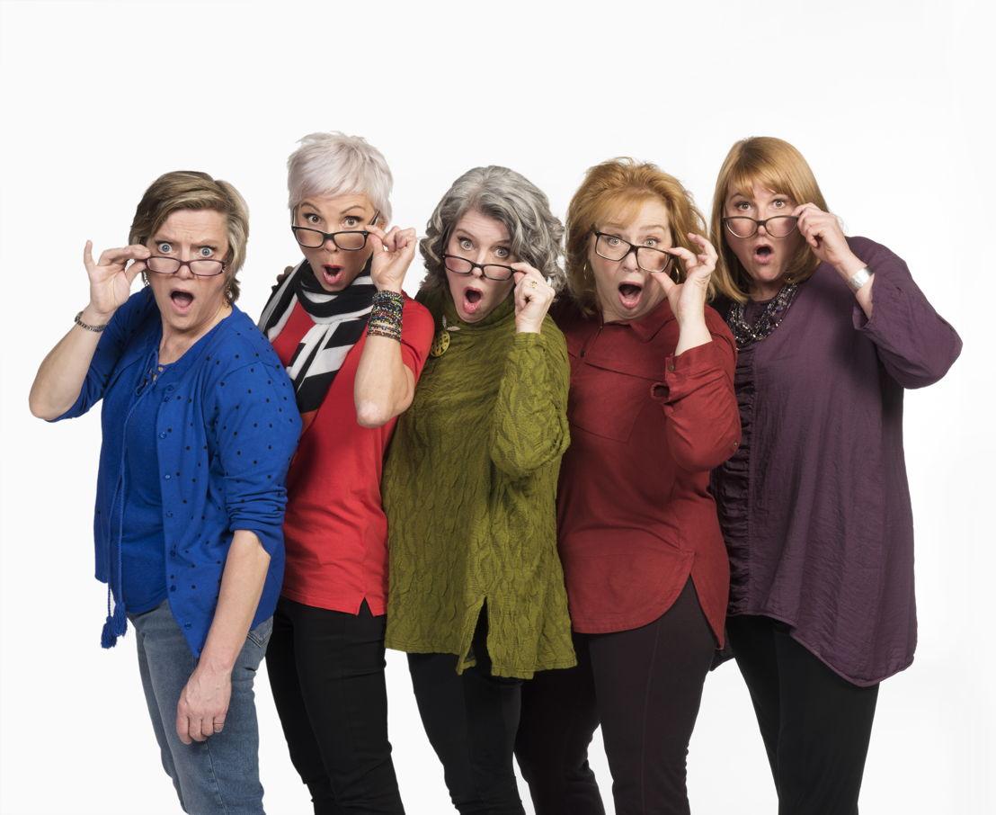 Robin Nichol, Jill Daum, Alison Kelly, Barbara Pollard, & Deborah Williams / Photo by Emily Cooper