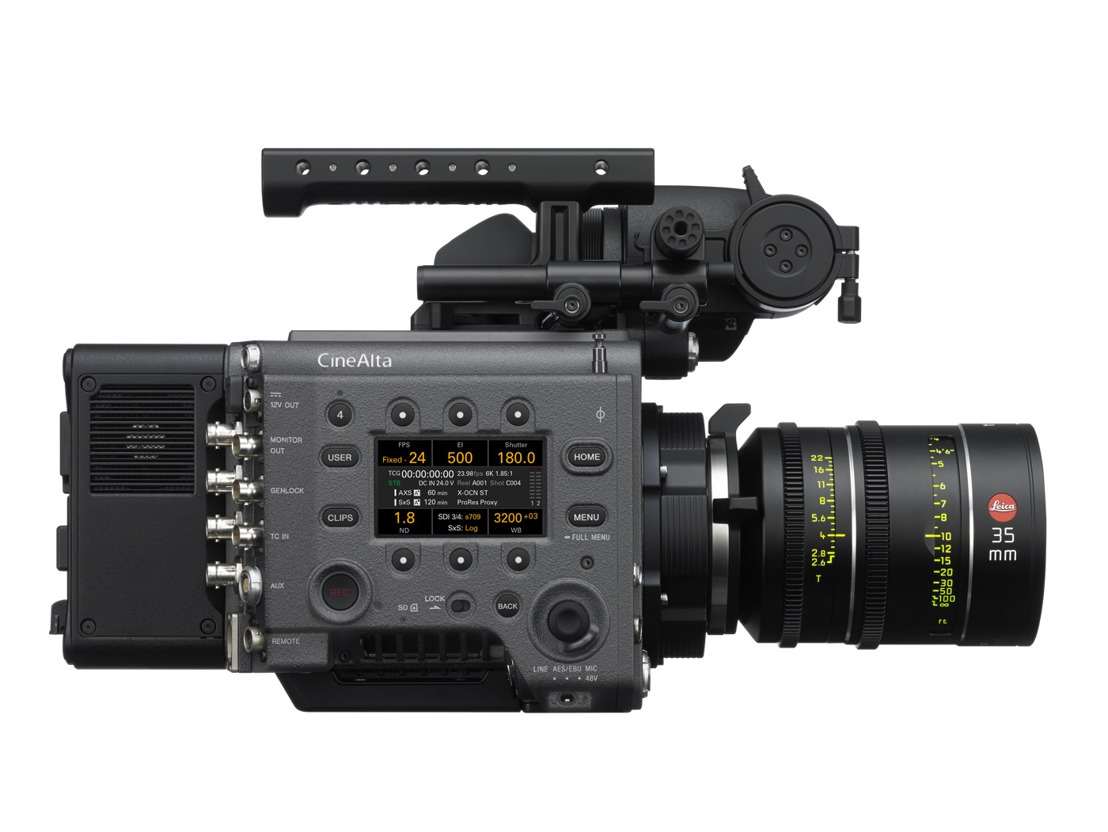 Sony VENICE High Frame Rate will come up to 4K 120fps