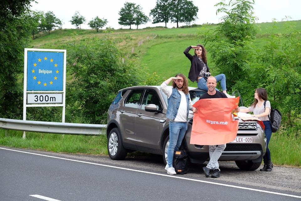 Lize Feryn / Charlotte Timmers / Yuri Vandenbogaerde / Dries Henau op srprs.me roadtrip
