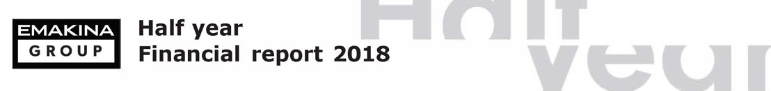 Emakina Group : résultats semestriels 2018 : Croissance soutenue des ventes et de la rentabilité