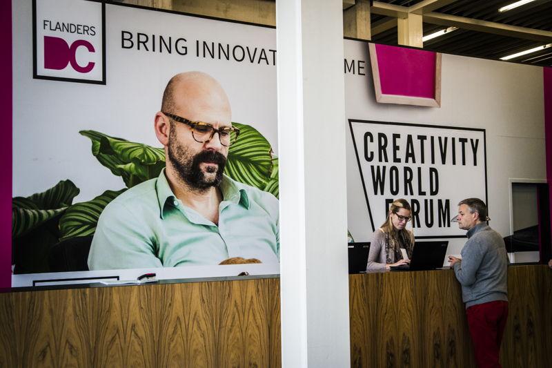 Creativity World Forum 2014 in Kortrijk Xpo