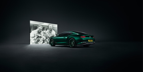 INSPIRED BY A RACING LEGEND: CONTINENTAL GT NUMBER 9 EDITION BY MULLINER