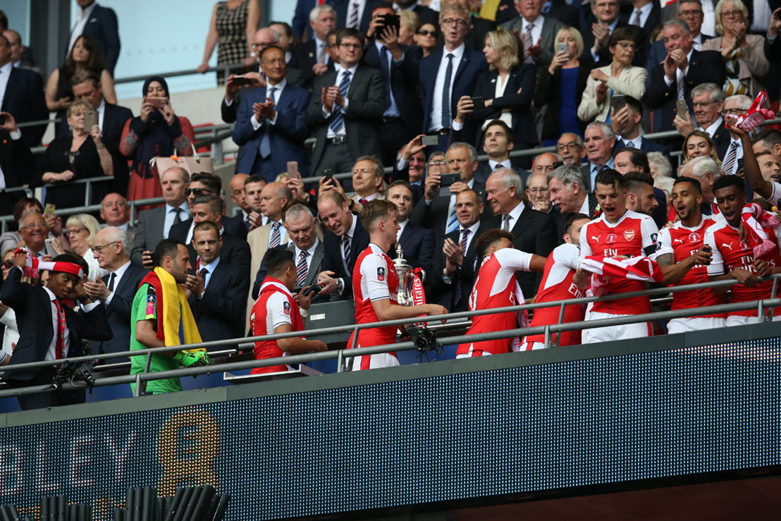 Sir Tim Clark, President Emirates Airline at the 2016/17 Emirates FA Cup Final