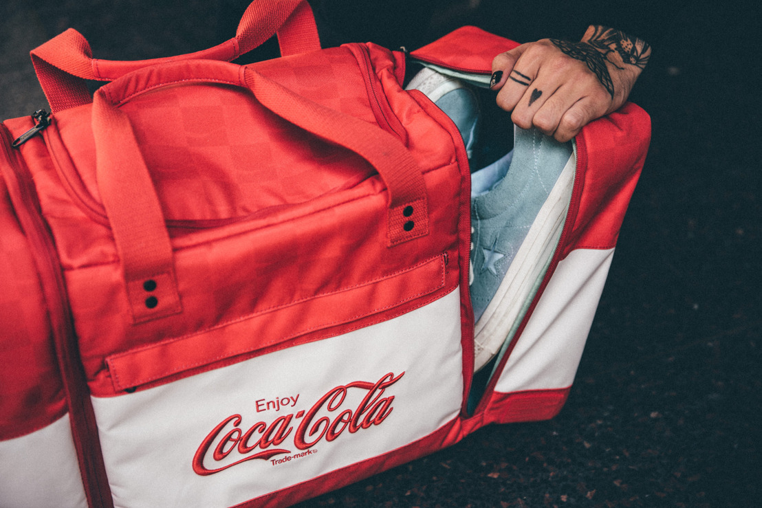Coca-Cola Teams Up Hex To Create Innovative Laptop and Sneaker Bags
