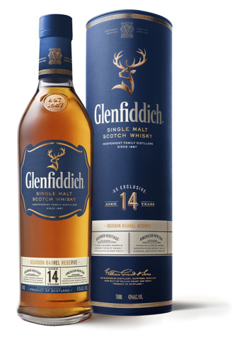 SCOTLAND BORN WITH AN AMERICAN ACCENT: GLENFIDDICH PROUDLY RELEASES THE ALL-NEW 14 YEAR BOURBON BARREL RESERVE IN CANADA THIS AUGUST