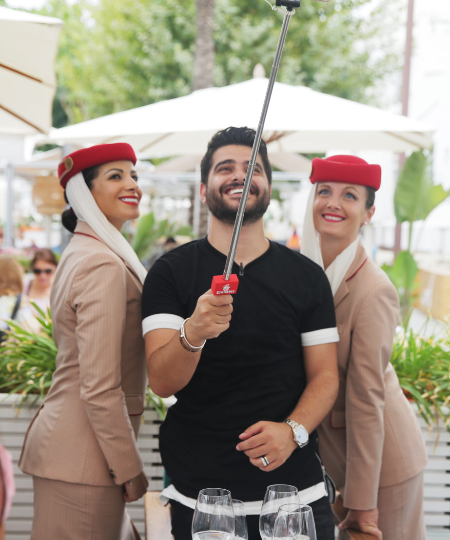 Sponsored by Emirates, the four-night Western Mediterranean voyage was a successful event featuring Nassif Zeytoun