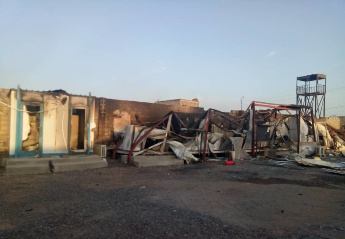 Yemen – MSF hospital partially destroyed in Mocha attack