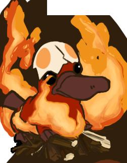 Fire Platypus
